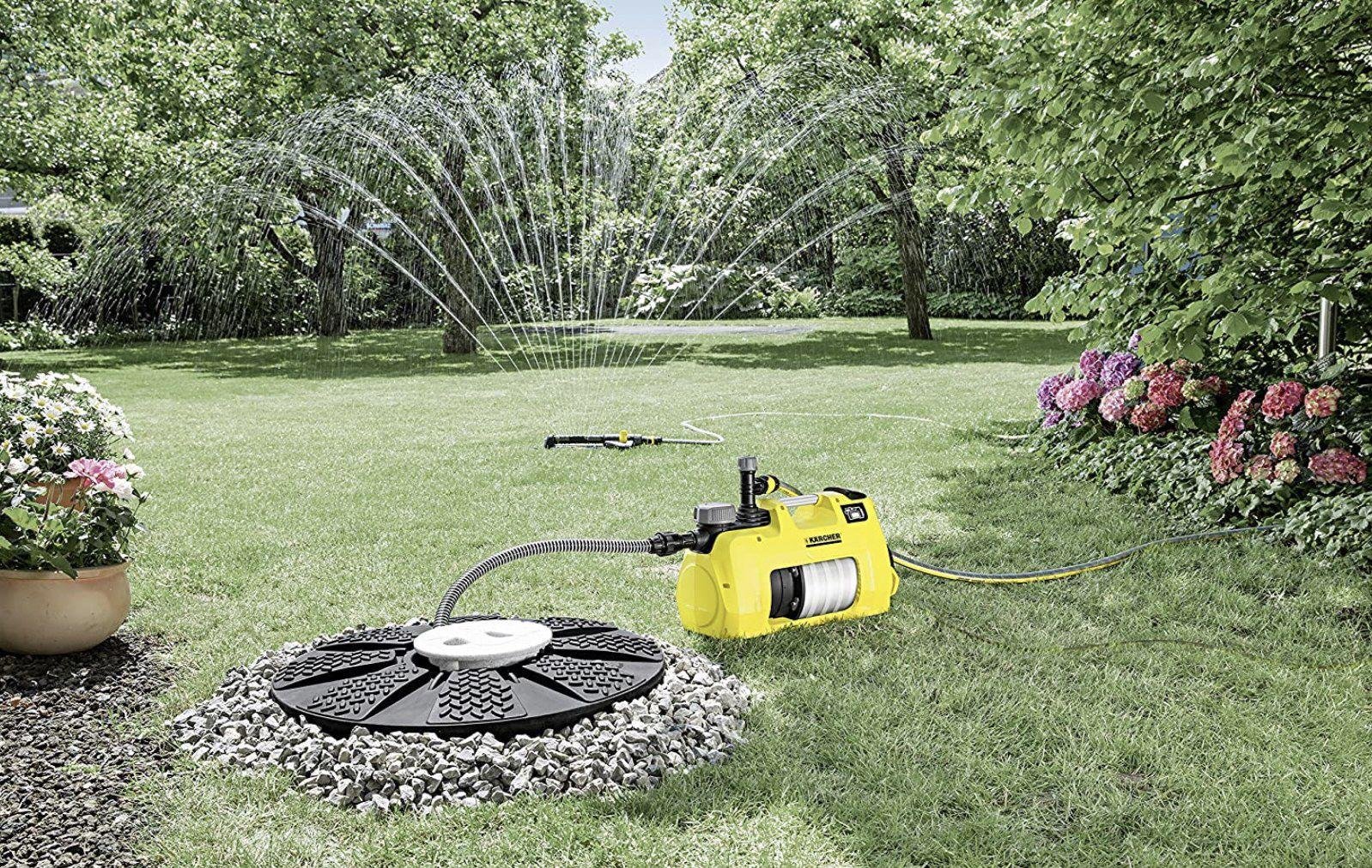 Kärcher Gartenpumpe BP 7 mit Automatik Start/Stopp Funktion für 179,49€ (statt 236€)