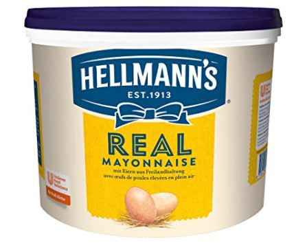 5 Liter Hellmanns Real Mayonnaise mit Rapsöl ab 15€ (statt 25€)   Prime Sparabo