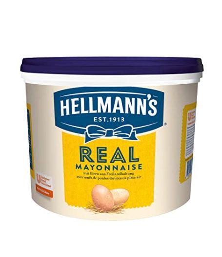 5 Liter Hellmann's Real Mayonnaise mit Rapsöl ab 15€ (statt 25€) – Prime Sparabo
