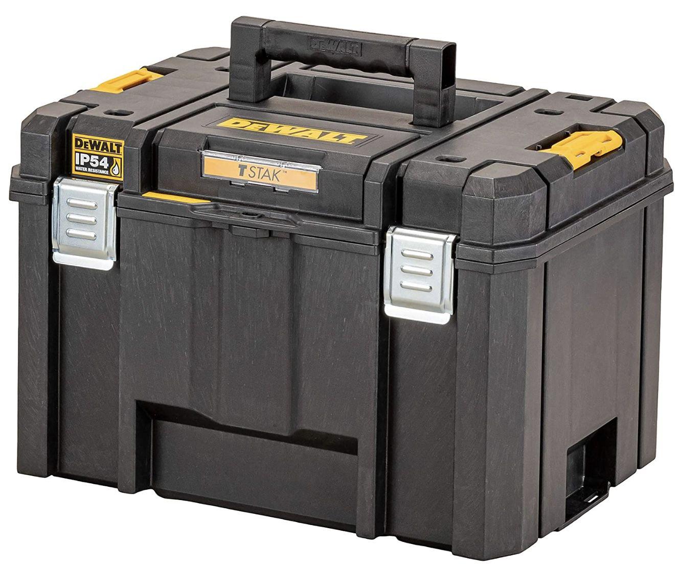 DeWalt TSTAK DWST83346 1 Tiefe Werkzeugbox mit 44l Volumen für 37,49€ (statt 48€)