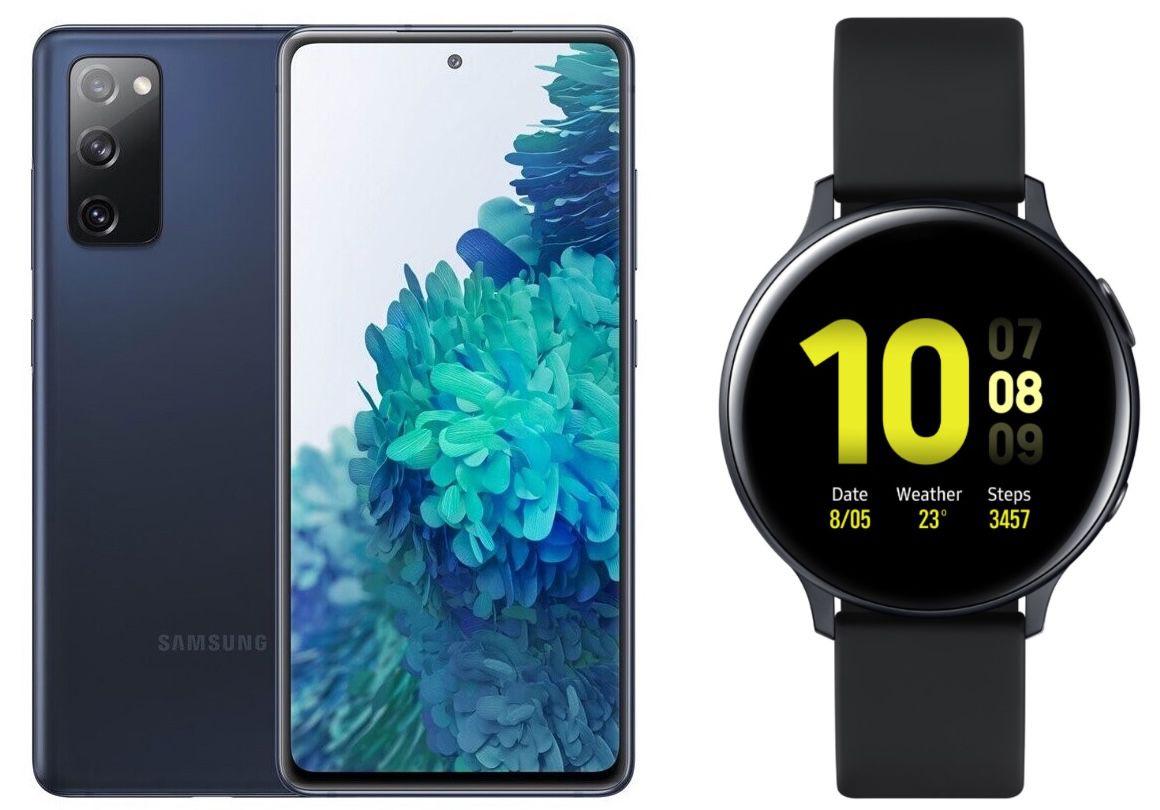 Samsung Galaxy S20 FE + Galaxy Watch Active2 für 129€ + Telekom Allnet Flat von Congstar mit 10GB LTE für 22€ mtl.