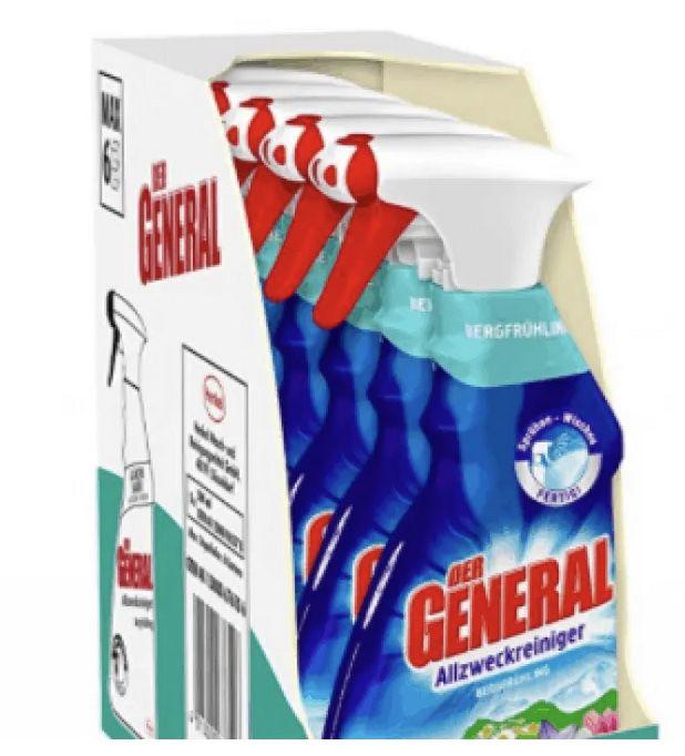 Der General Küchenreiniger 5er Pack (5 x 500 ml) ab 4,99€