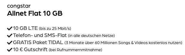 Roborock S6 Pure Saugroboter + Telekom Allnet Flat von Congstar mit 10GB LTE für 22€ mtl.