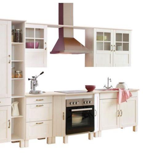"""Fehler? Home affaire Küchen-Set """"Alby"""" ohne E-Geräte mit 325cm Breite aus massiver Kiefer für 191,94€ (statt 1.799€)"""