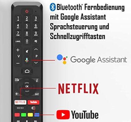 Telefunken XH32AJ600   32 Zoll HD Android Fernseher für 169,99€ (statt 220€)