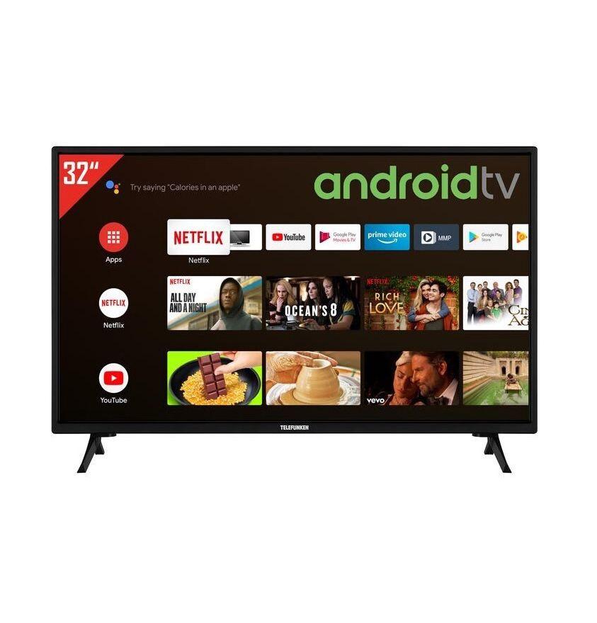 Telefunken XH32AJ600 – 32 Zoll HD Android Fernseher für 169,99€ (statt 220€)
