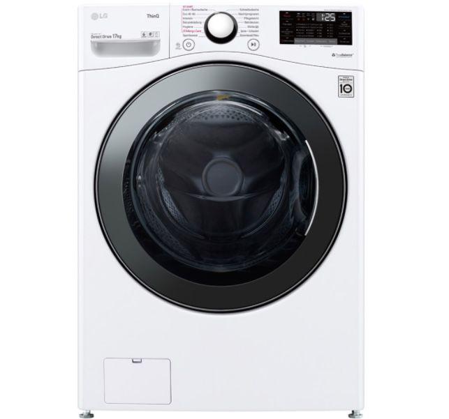 LG F11WM17TS2 Waschmaschine mit 17kg (!) Volumen für 899,99€ (statt 1.060€)