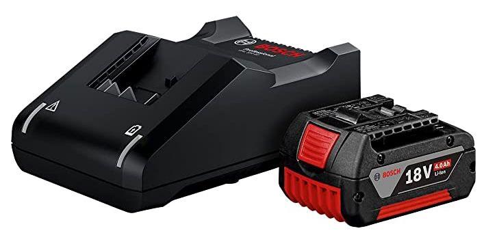 Bosch Professional 18V System Akku Starterset (2x 4.0Ah Akku + Ladegerät) für 104,99€ (statt 122€)