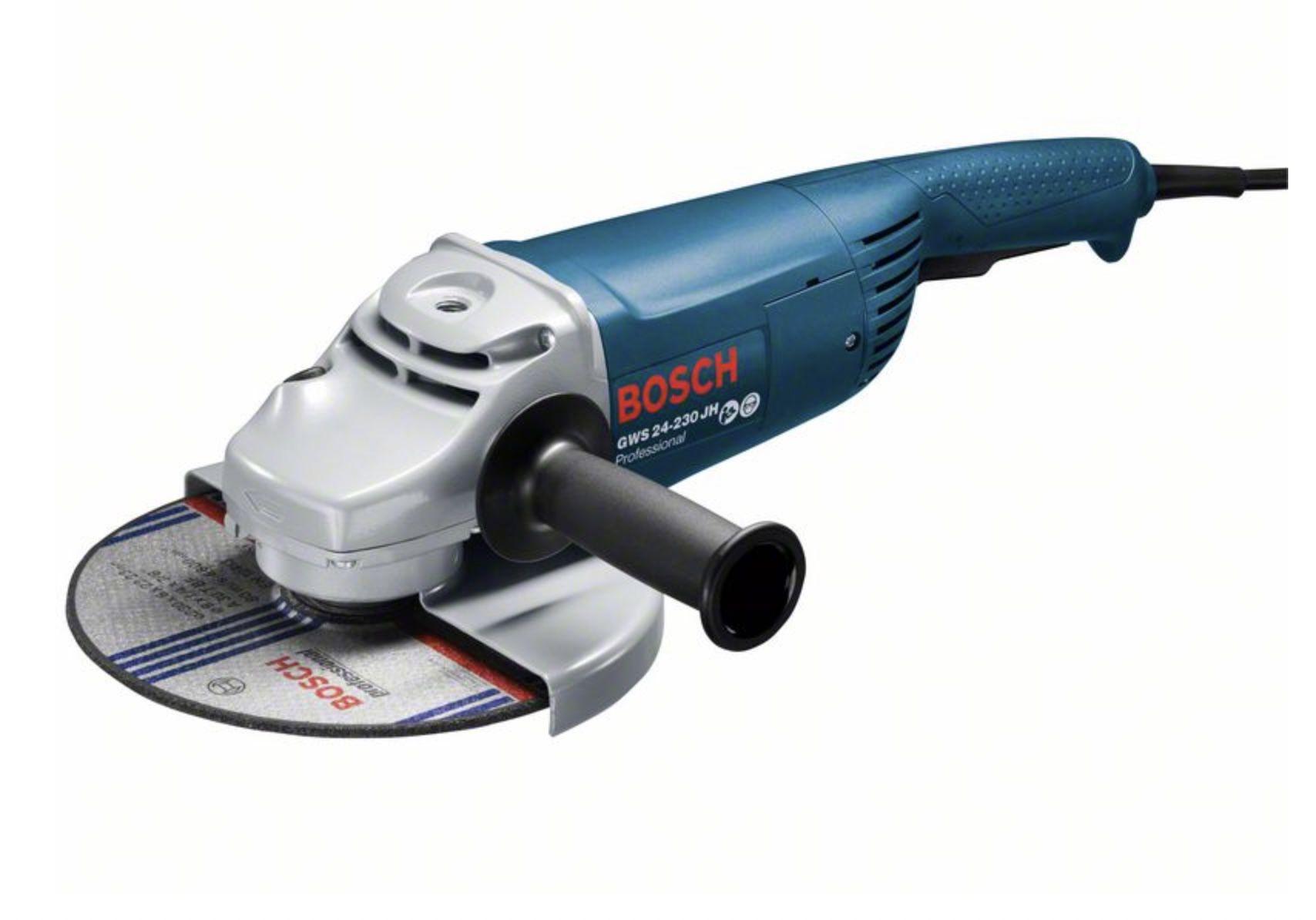 Bosch Professional Winkelschleifer GWS 24-230 JH mit Wiederanlaufschutz für 112,86€ (statt 133€)