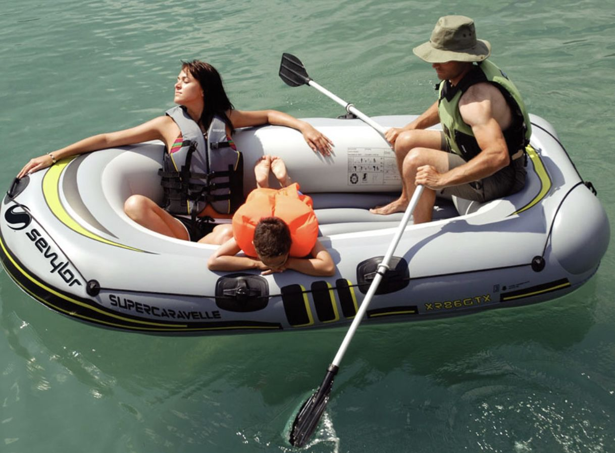 Sevylor Schlauchboot Supercaravelle XR 86 GTX für 99€ (statt 160€)