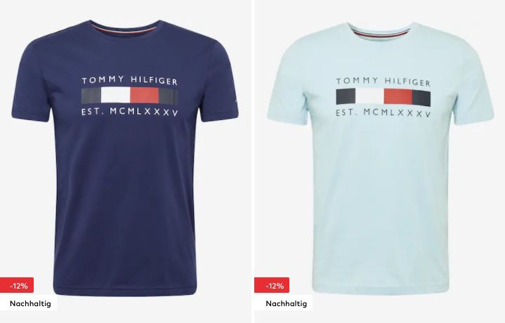 Tommy Hilfiger Shirt Sale + 15% Extra Rabatt ab 75€