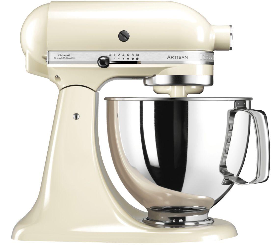 KitchenAid Artisan 5KSM125 Küchenmaschine in Creme für 419€ (statt 470€)