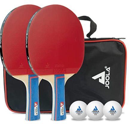JOOLA Tischtennis Set Duo PRO inkl. 2 Schläger & 3 Bälle für 13,06€ (statt 18€) – Prime