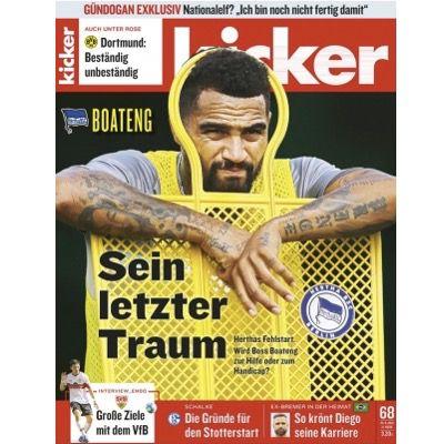 KNALLER! 13 Ausgaben (3 Monate) vom Kicker Abo direkt komplett gratis (normal 74,10€)