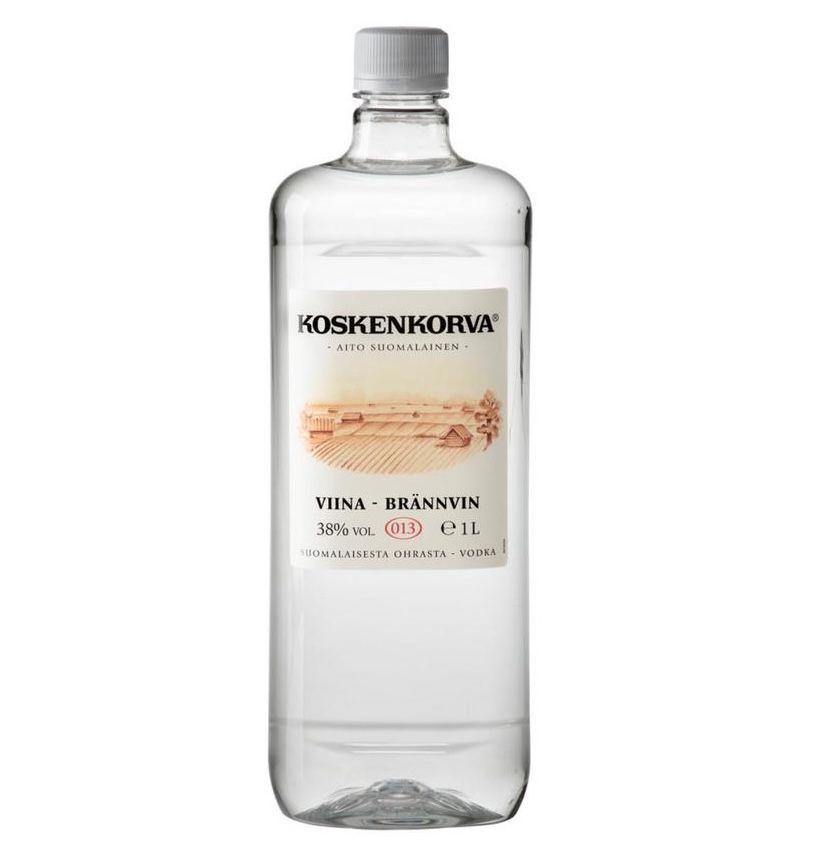 4x 1 Liter Koskenkorva Viina Vodka 38% für 35,60€ (statt 50€)