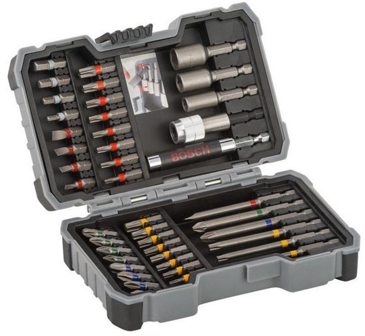Bosch 43tlg. Bit- und Steckschlüssel-Set + Universalhalter für 15,90€ (statt 21€)