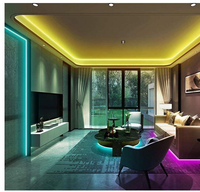 Ksipze LED RGB Strip 10m (2x5m) für 6,89€ (statt 15€)  prime