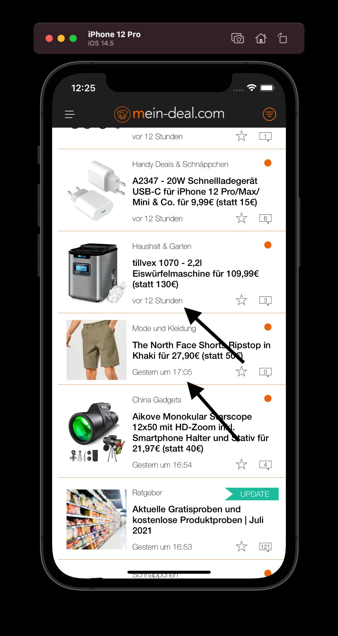 WICHTIG: Feedback von iOS Usern   Mein Deal iOS APP Fehler  ⭐WICHTIGES UPDATE #3 vom 22.07.21   App Update eingereicht⭐