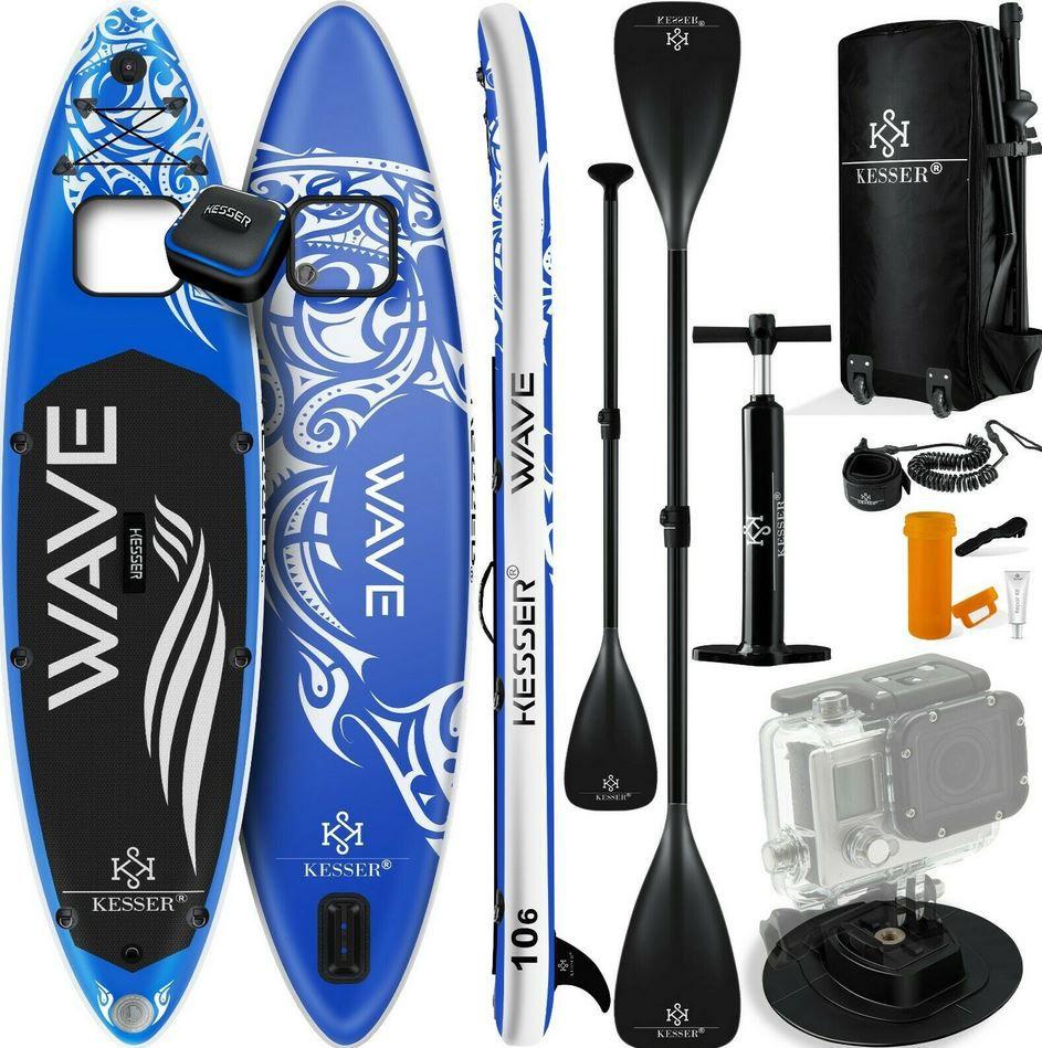 Kesser Wave S16532 SUP Board aufblasbar mit Zubehör für 212,33€ (statt 299€)