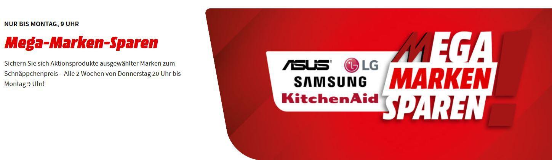 Top! Media Markt Mega Marken Sparen: günstiges von ASUS, LG, Samsung und KitchenAid