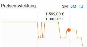 Fischer EM 2127   27,5 Zoll E Mountainbike mit 422 Wh ab 1.189€ (statt 1.599€)