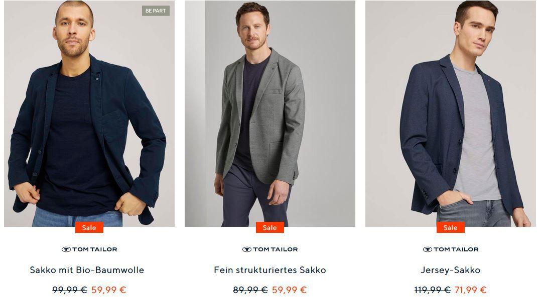Tom Tailor Weekend: 20% extra Rabatt im Sale   25% Rabatt für Member