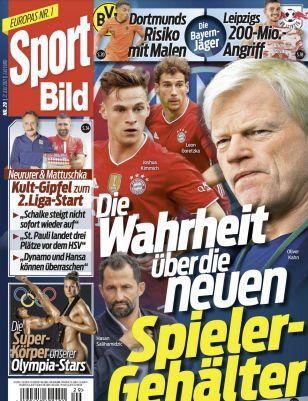 12 Monate Sport Bild Abo für 142,80€ + Prämie: 90€ Scheck