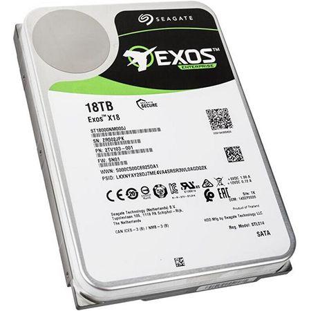 Seagate Exos X X18 (ST18000NM000J) 18TB Sata 3 Festplatte für 407,99€ (statt 474€)