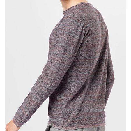Indicode Pullover Blanks in der Farbe blau/burgunder für 8,36€ (statt 21€)