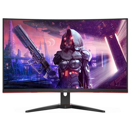 AOC CQ32G2SE/BK – 31,5 Zoll Curved QHD Monitor mit 165Hz für 275,70€ (statt 340€)
