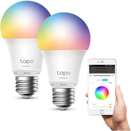 2x TP Link Tapo smarthome E27 Glühbirne für 19,90€ (statt 30€)