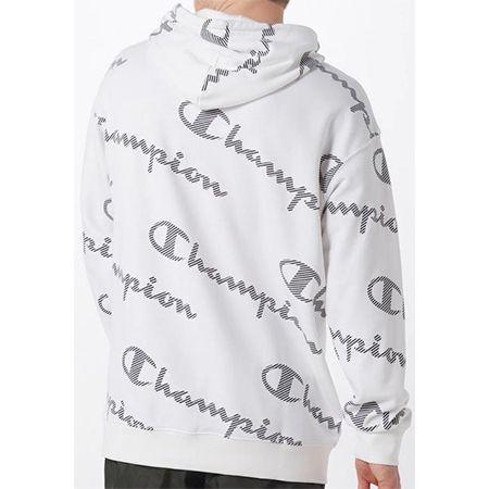 Champion Authentic Athletic Apparel Hoodie in schwarz / weiß für 34,93€ (statt 45€)