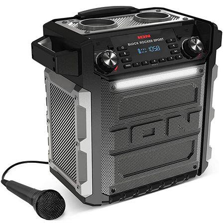 ION Audio Block Rocker Sport – 100Watt Bluetooth Party Lautsprecher mit Akku für 93,27€ (statt 205€)