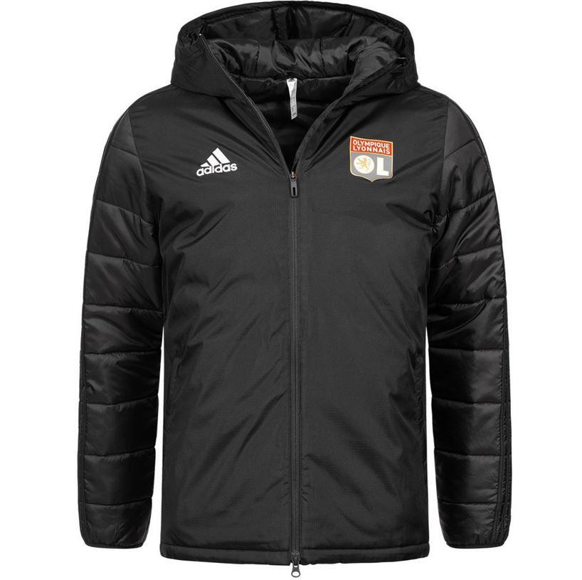 SportSpar HOT DEALS: z.B. Olympique Lyon adidas Herren Winterjacke für 44,99€ (statt 65€)