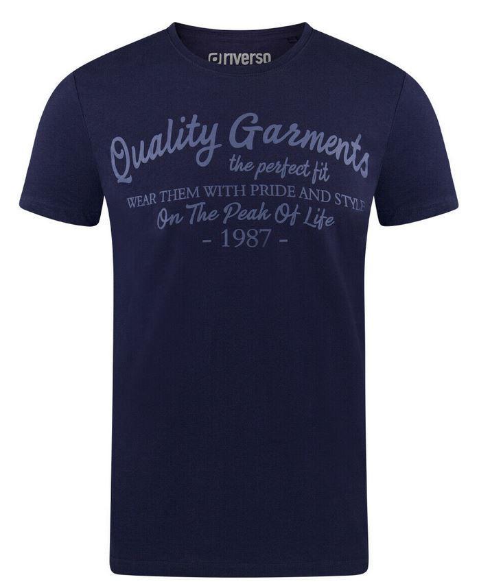 riverso RIVLeon verschiedene Herren Print T-Shirts für je 12,95€ (statt 19€)