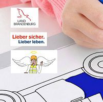 Gratis: Malbücher für Kinder zum Thema Verkehrssicherheit