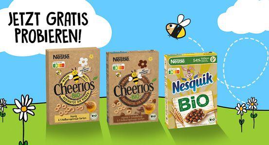 Nestlé Bio Cerealien kostenlos ausprobieren