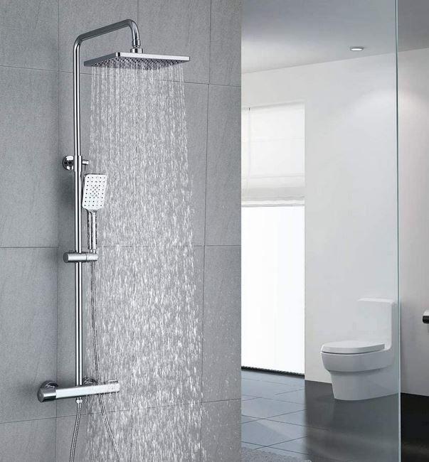 UMI FTF51  Regen- Duschsystem mit Thermostat für 105,99€ (statt 175,99€)