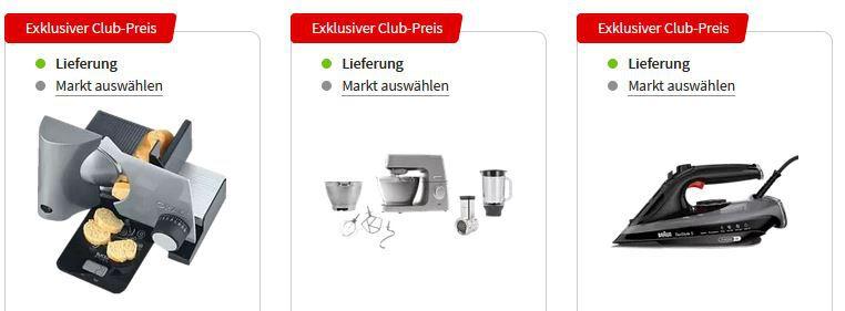 MediaMarkt Members Only Aktion   z.B. KENWOOD KVC 5391 S Chef Elite Küchenmaschine für 489€ (statt 540€)