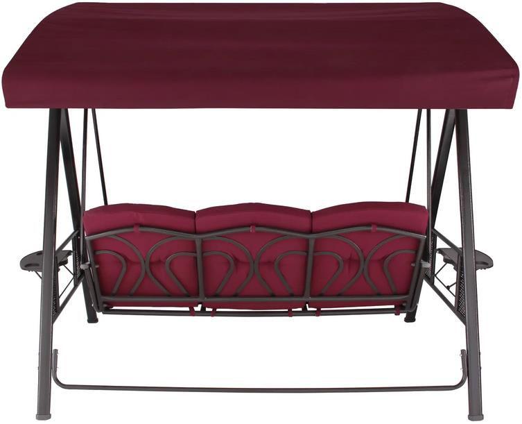 Giardino Hollywoodschaukel Deluxe mit 150 x 50 cm Sitzfläche für 194€ (statt 240€)