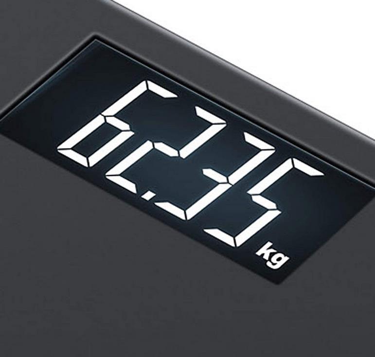 Beurer PS 240 Soft Grip Personenwaage in schwarz für 17,70€ (statt 30€)