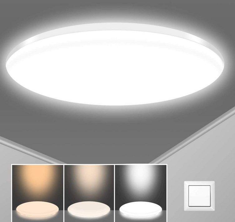 Sunzos LED Deckenleuchte für 19,24€ (statt 29€)