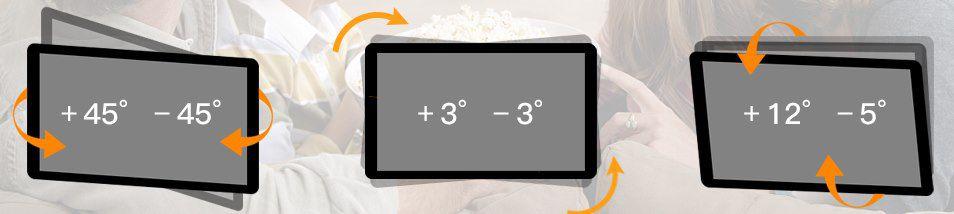 PERLESMITH TV Wandhalterung für 32 bis 55 Zoll & max 45kg für 23,39€ (statt 36€)