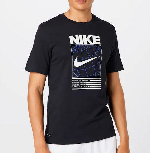 Nike Dri FIT 6/1 Graphic T Shirt in Weiß für 14,95€ (statt 24€)