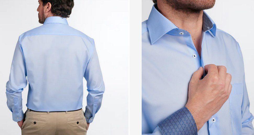Eterna Businesshemd COMFORT FIT in Hellblau für 27,12€ (statt 34€)