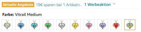 Kate Lynn Halskette Wegen der Liebe in 11 Farben für je 10,99€ (statt 30€)