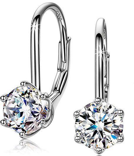 Sellot Ohrringe aus 925er Sterling Silber mit  5A Zirkonia für 9,99€ (statt 22€) – Prime