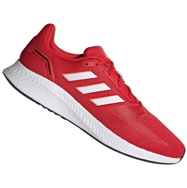 adidas Runfalcon 2.0 Unisex-Sneaker in Rot für 32,95€ (statt 50€)