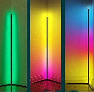 JHJLIB WRLD888 LED RGB-Stehlampe mit Fernbedienung für 47,99€ (statt 60€)
