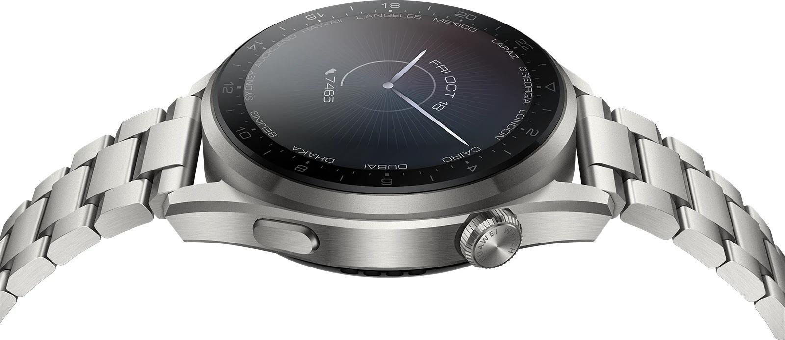 Huawei Watch 3 Pro Elite 4G Silber/Silber 49mm mit In Ear Kopfhörern für 499€ (statt 599€)